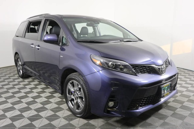 Certified Pre-Owned 2020 Toyota Sienna SE