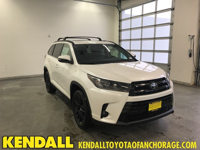 New 2019 Toyota Highlander Se Suv In Anchorage Nt29923 Kendall